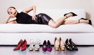 Sell in Shoes in China: Women possess more shoes than men in China