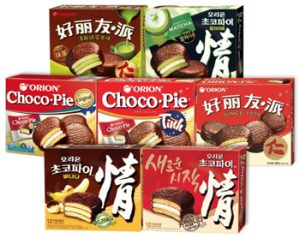 Orion snacks in china