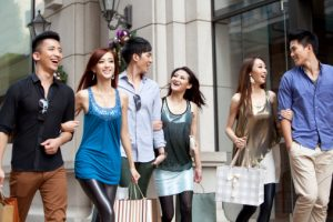 Sell bags in China: Affluent young Chinese