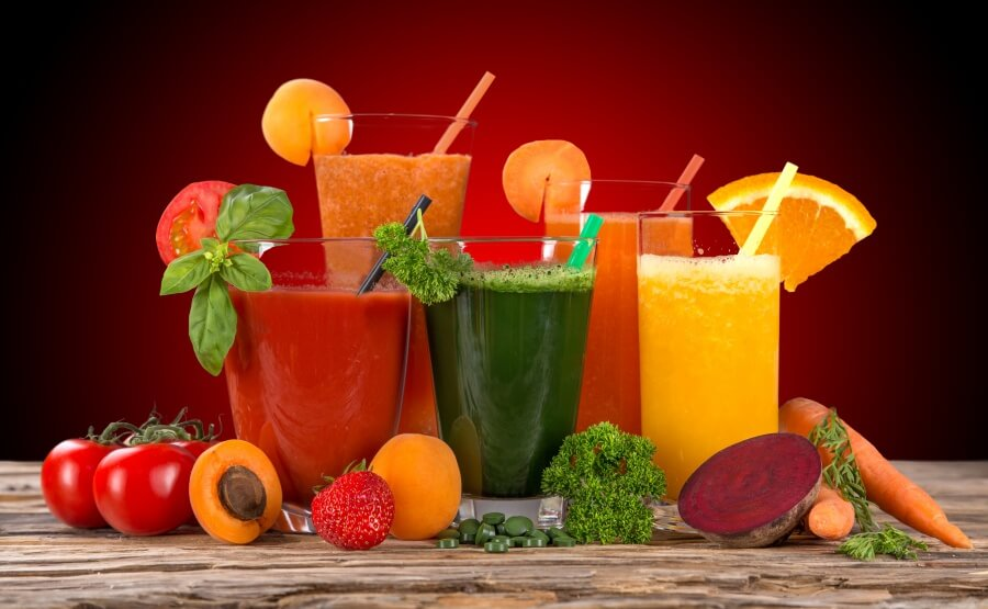 Fresh juice are very popular in China