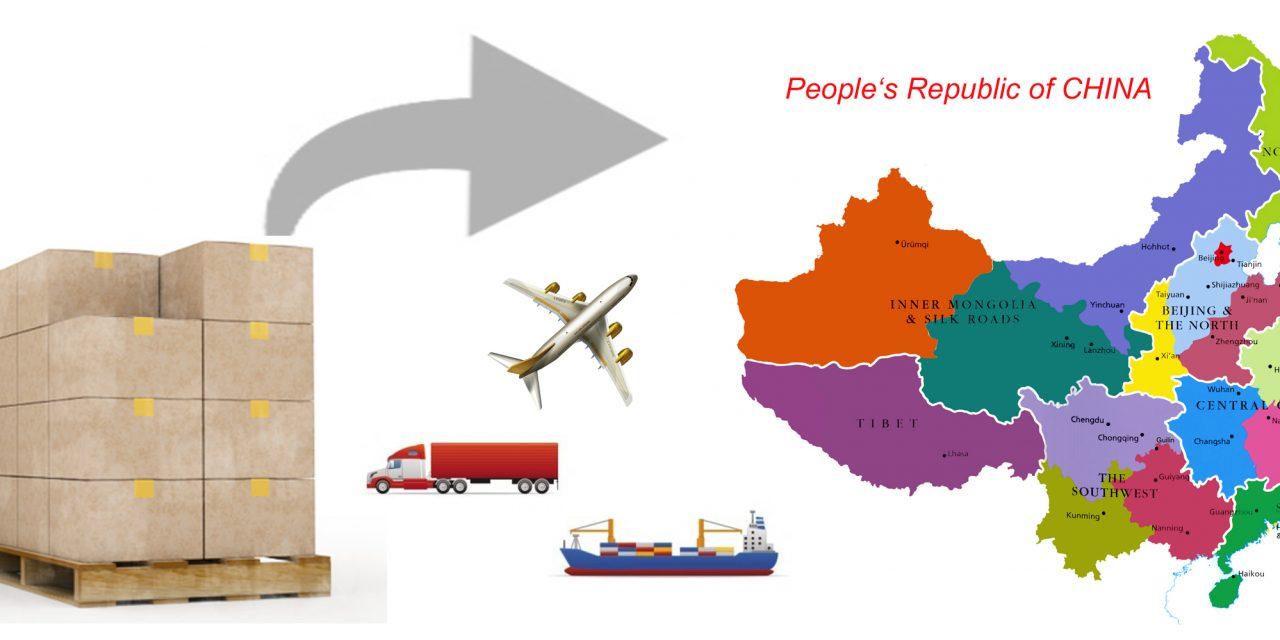 export to china