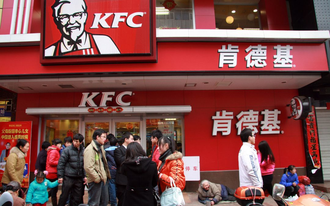 China's KFC reinvented its marketing strategies