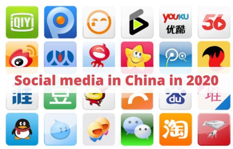 Social media in China in 2020