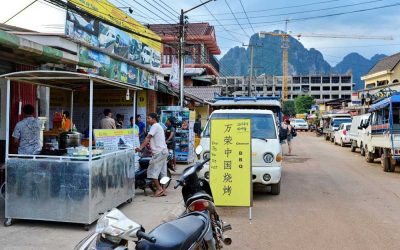 The return of Street vendors in China?